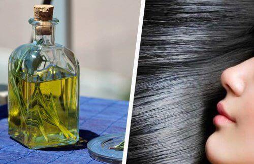 saç uzamasını hızlandıran rozmarin yağı