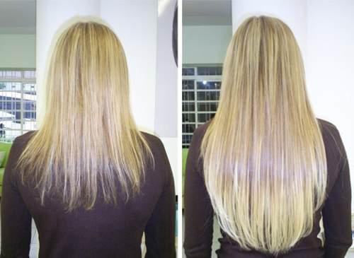 saç uzaması