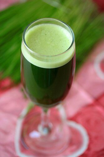 yeşil meyve suyu 2