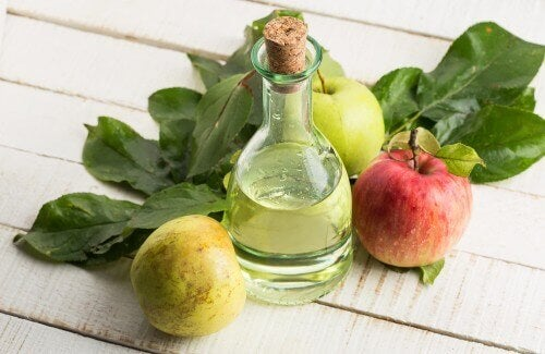 organik elma sirkesi