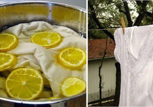 Çamaşırları Doğal Yollarla Beyazlatmanın 5 Yolu
