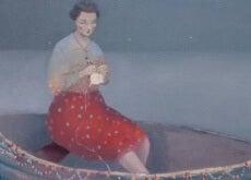 gemideki kadın