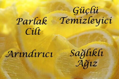 limonlu ev tedavileri