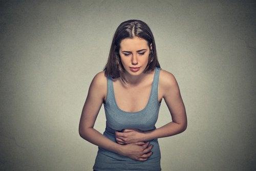 mide krampı