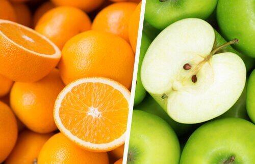 portakal ve elma