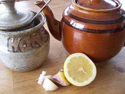 sarımsak çayı hazırlanışı