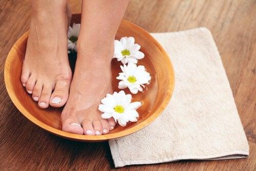 ayak için su masajı