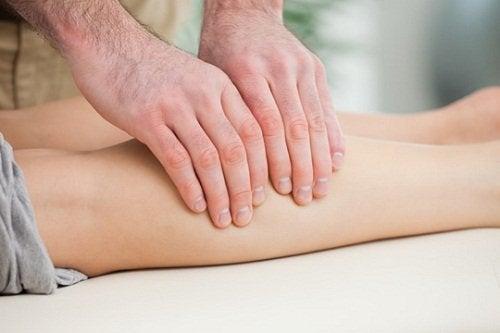bacak masajı