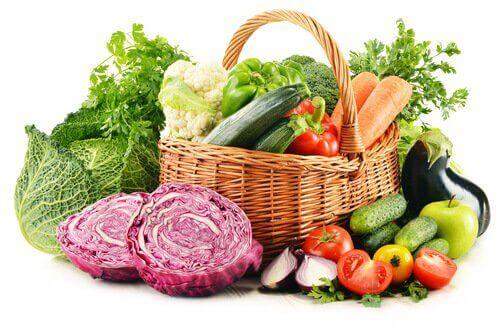 kilo vermek için sebze