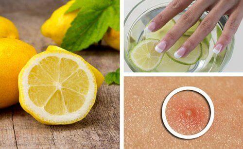 Limonun Güzellik Amaçlı 6 Farklı Kullanımı