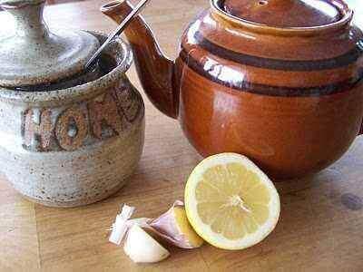 sarımsak ve limon çayı