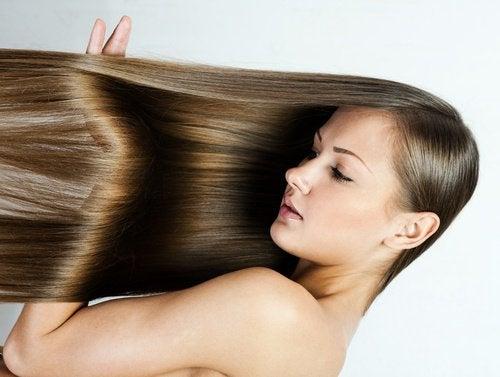 saçlarınızı düzleştirmenin