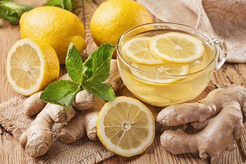 zencefil limon çayı