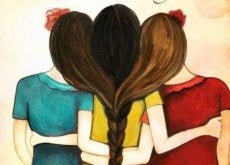 kardeş sarılmak