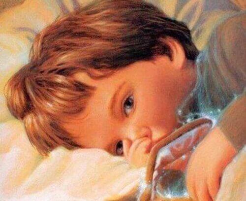 küçük yaşta çocuk resmi
