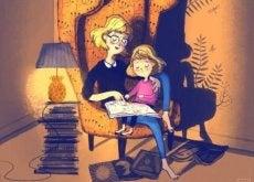 çocuk ve annesi