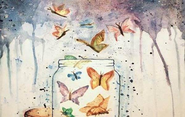 kavanozdan çıkan kelebekler