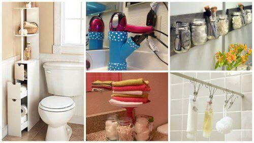 Banyoda Yer Açmak için 19 Öneri