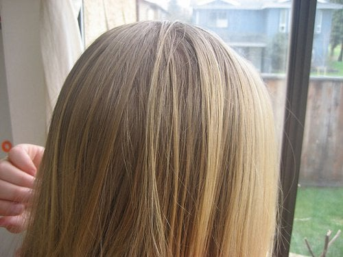 gölgeli saçlar