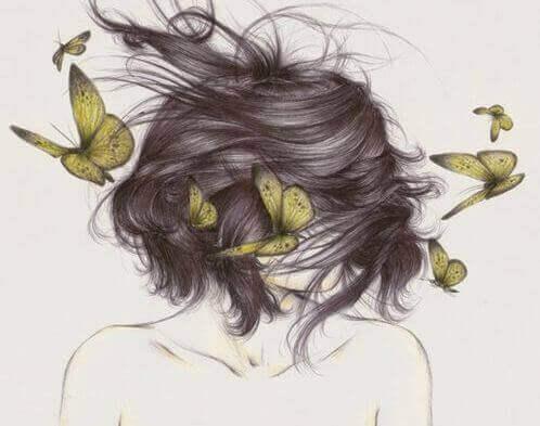 kadın kelebekler