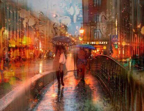 yağmurlu hava köprü