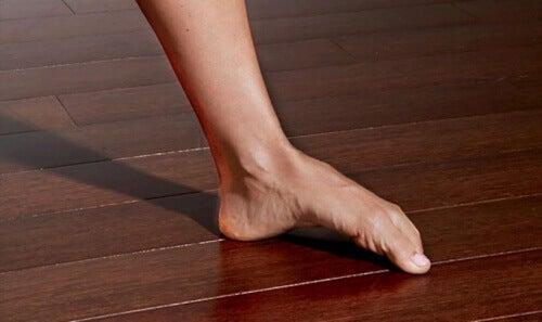 kemer yapan ayak