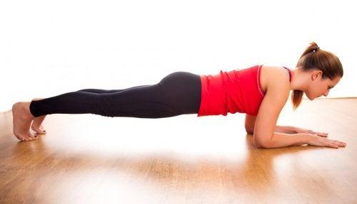 Her Gün Plank Egzersizi Yapmanın 5 Faydası
