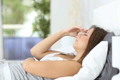 baş ağrısı ve yorgunluk
