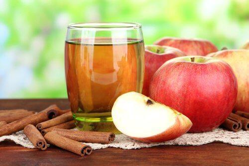 tarçın elma limon içecek