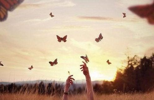 yaşamayı öğrenmek ve kelebekler