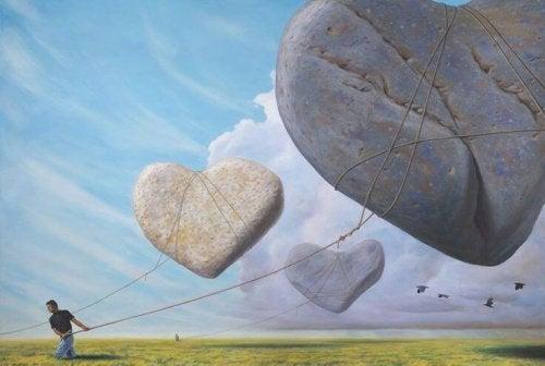 taş kalpler