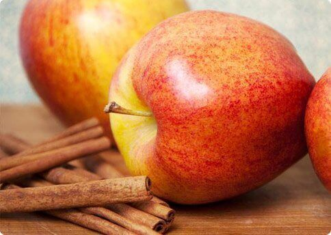 elma ve tarçınlı su
