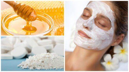 Aspirin ve Bal ile Yüz Maskesi Hazırlamak