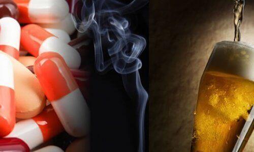 sigara, uyuşturucu ve alkol