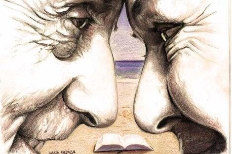 yaşlı çift