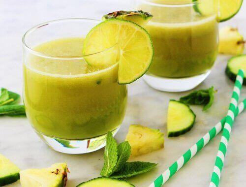 elma ananas limon