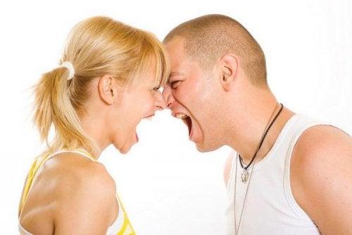 öfkeli çift