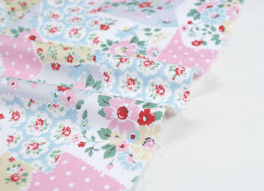 çiçekli kumaş