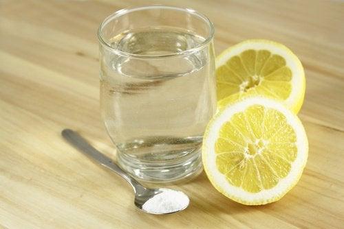 limon ve tuzlu su