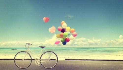 balon ve bisiklet