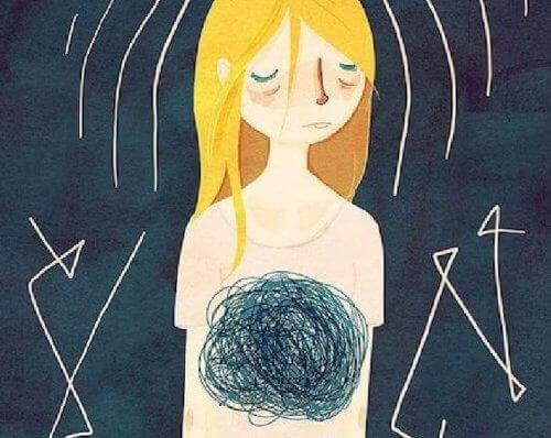 kız ve garip duygular