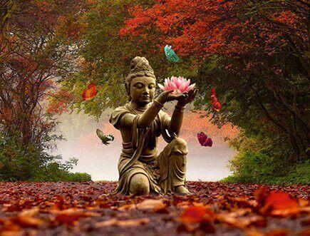 budizm heykeli