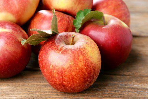 vajina sağlığını korumak için elma