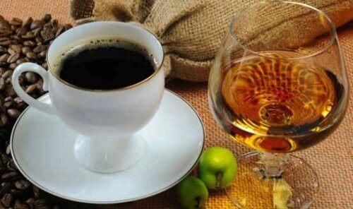 kahve ve içki