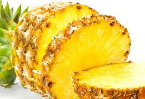 kemik erimesine karşı ananas