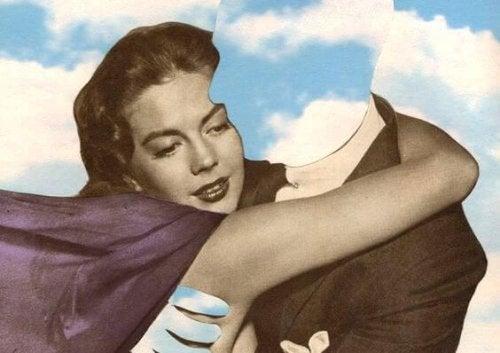 gökyüzü kadın ve adam