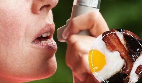 Astım Hastaları ve Kaçınmaları Gereken 9 Yiyecek