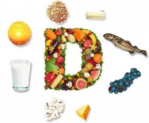 D vitamini ve bulunduğu gıdalar