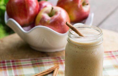 greyfurt ve elma karışımı