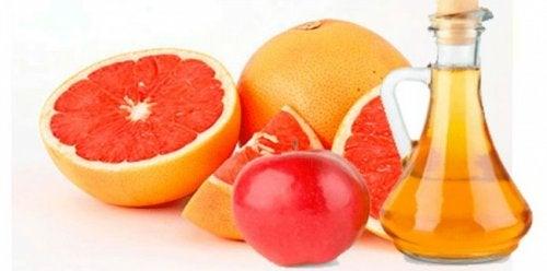 portakal elma ve sirke